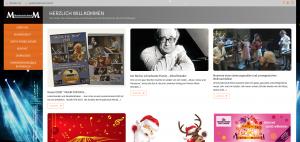 Webseite Musikschule Morel Wettingen